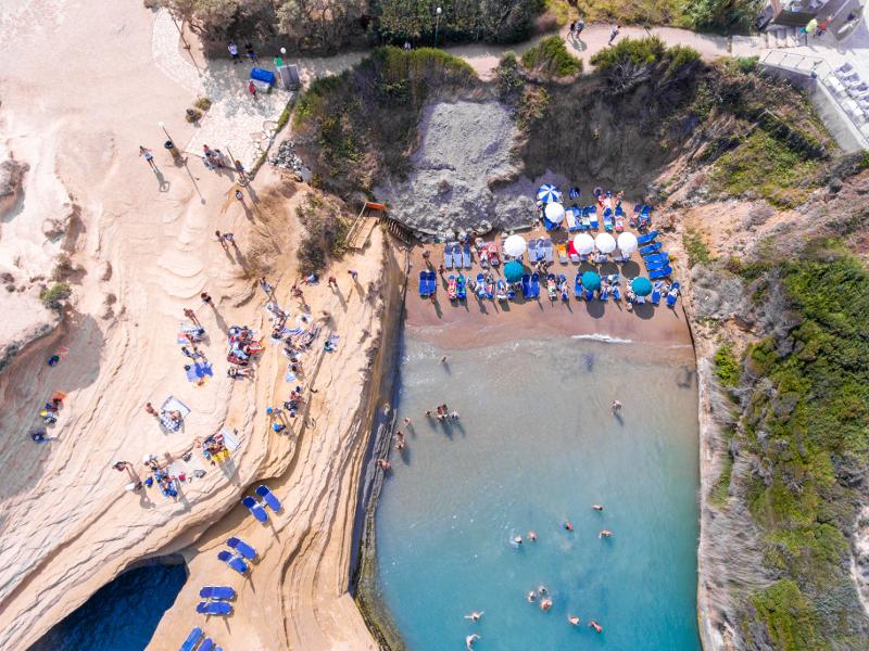 Canal d'amour1 Σιδάρι - Περουλάδες | corfugreece.gr