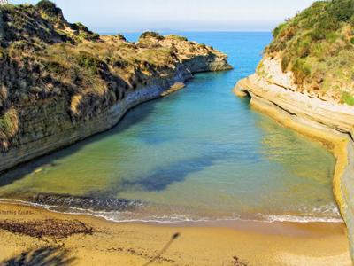 Canal d'amour Σιδάρι - Περουλάδες | corfugreece.gr