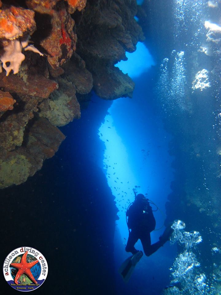 Achilleon Diving Center Κέρκυρα   corfugreece.gr