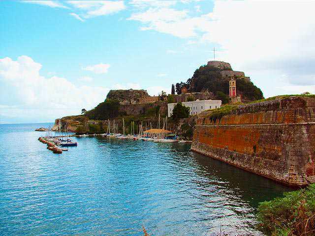 Το Παλαιό Φρούριο (2) Κέρκυρα   corfugreece.gr